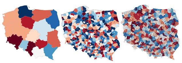 Mapa Polski Podział na Województwa Mapa Polski Excel Województwa
