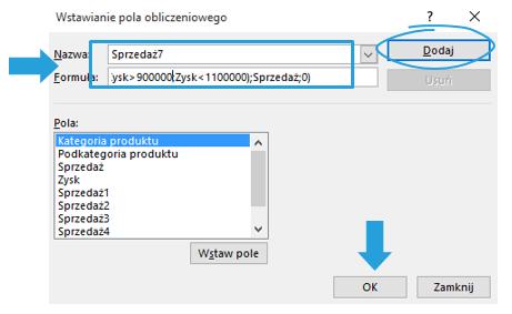 Przedstawienie drugiej zmiennej na wykresie przestawnym Excel w postaci koloru_6
