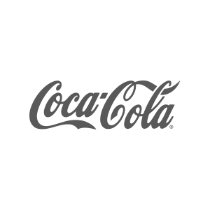 Coca-Cola b&w