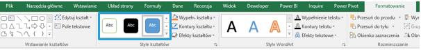 Co nowego wprogramie Excel 2016 (cz.1) - formatowanie, powiedz mi, szablony_12