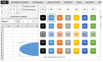 Co nowego wprogramie Excel 2016 (cz.1) - formatowanie, powiedz mi, szablony_14