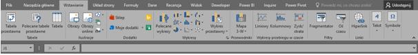 Co nowego wprogramie Excel 2016 (cz.1) - formatowanie, powiedz mi, szablony_7