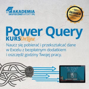 Akademia kurs online Power Query