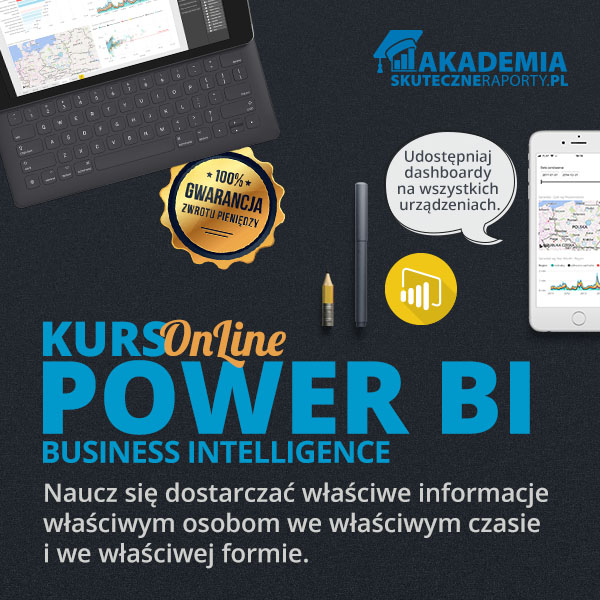 Akademia kurs online POWER BI